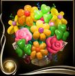 Yellow Balloon Bouquet EX