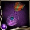 Purple Medallion