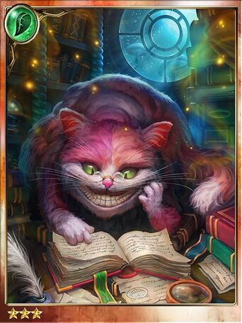 Elusive Cheshire Cat