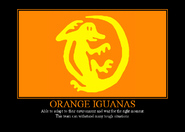 Orange iguanas by winter phantom-d4cmqp6