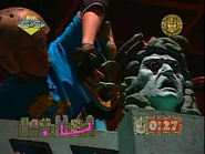 The Stone Head of the Evil King