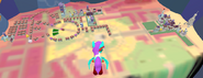 Airal view of Canterlot