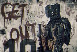 Sci fi soldier by xerohaggard-d87g0gr