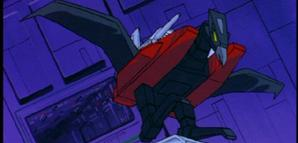 Laserbeak descend