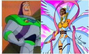 Buzz and Angewomon 2