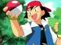 Ash i caught a pokemon