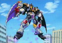 Galvatron airborne