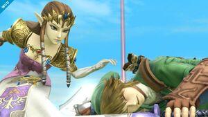 Link hurt