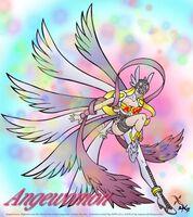 Angewomon heel of justice super