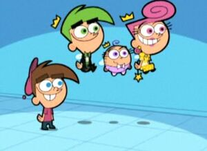 Timmy with fairies