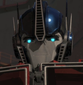 Optimus sweet smile close
