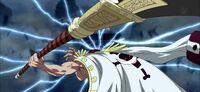 Whitebeard GuraGura Naginata