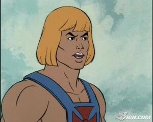 He-man determined