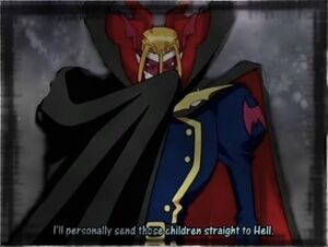 Myotismon cool cape