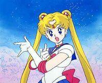 Sailor moon angry