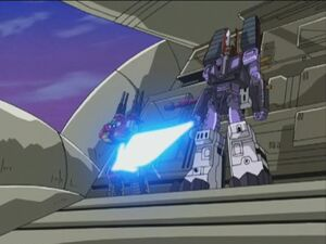 Galvatron with star saber