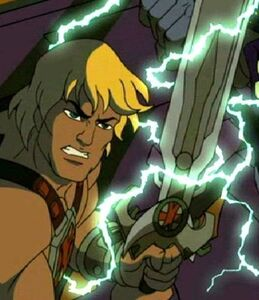 He-man very determined