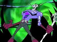 Skeleton king pose