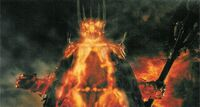 Sauron exploding