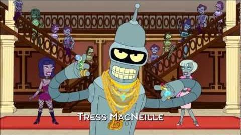 Bender's Pimp Song Decisionz I made