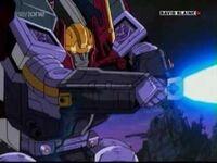 Galvatron attack with star saber