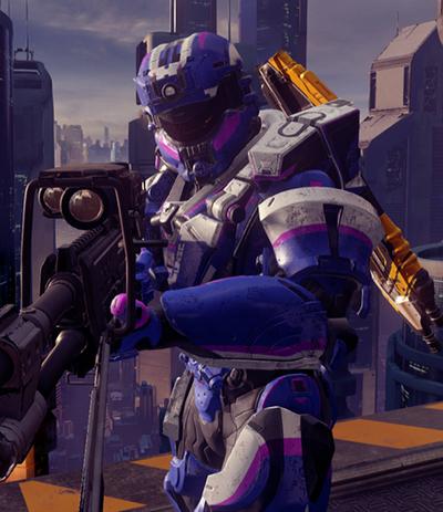 Agent Michigan Halo 5 Updated