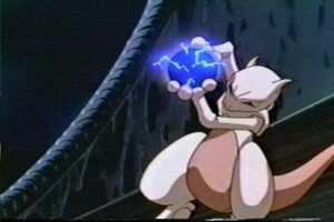 Mewtwo ready attack
