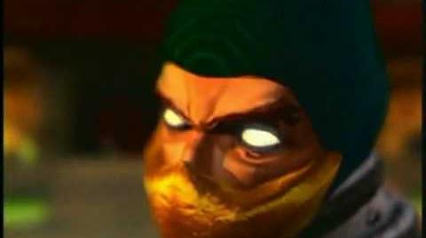 """Scorpion """"GET OVER HERE!"""" (Mortal Kombat)"""