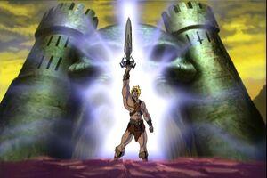 He-man shield