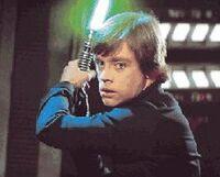 Luke ready to attack