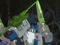Megatron has a new sword