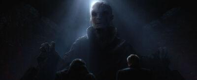 Snoke Speaking to Hux and Ren