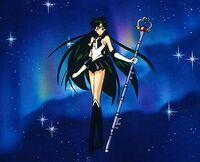 Sailor pluto pose