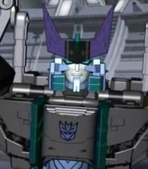Megatron sort of close up
