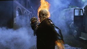 Ghost rider ready attack