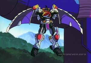 Galvatron flying
