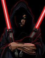 Sith warrior twin lightsabers by miftyisbored-d87ygyx