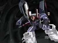 Galvatron charge