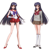 Sailor mars crystal render by luna ris-d7gg85h
