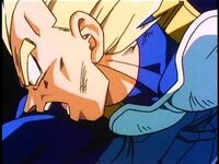 Vegeta ouch