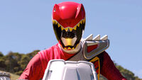 Red Dino Charge Ranger