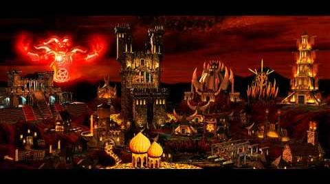 Heroes of Might and Magic III — Inferno Town Theme Music