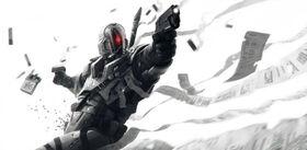 1468x720 21225 Last Man Standing Gabriel 2d sci fi warrior soldier paladin picture image digital art