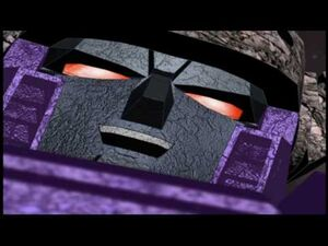 Galvatron scary close up