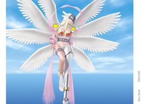 Angewomon in the sky super