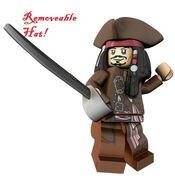 Jack Sparrow (Removeable Hat)