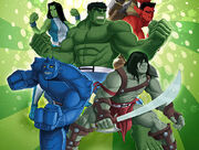 Hulk Agents of SMASH