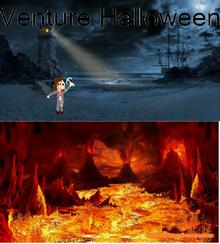 Venture Halloween Poster