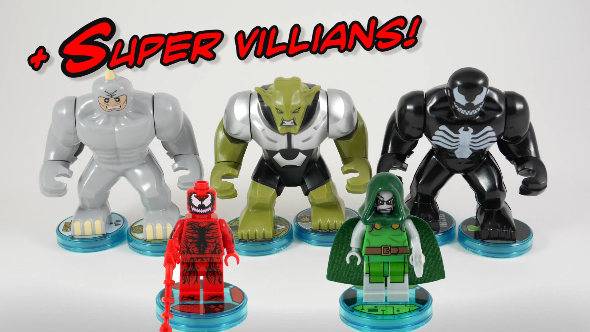 Lego Spiderman Malvorlagen Star Wars 1 Lego Spiderman: Spider-man Super Villians Join Lego Dimensions