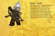 Rohan Soldier Info
